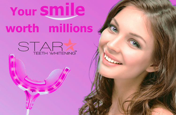 Pink Edition: Star Teeth Whitening™ Treatment